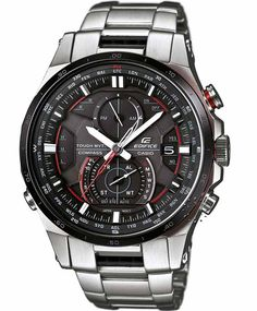 CASIO Edifice Solar RadioControlled Chronograph Stainless Steel Η τιμή μας: 644€ http://www.oroloi.gr/product_info.php?products_id=35086