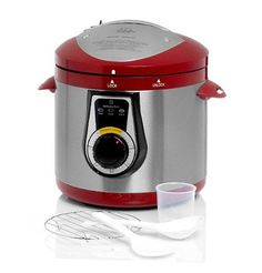 Wolfgang Puck Pressure Cooker Bistro Elite 7 Quart Multiple Colors: http://www.amazon.com/Wolfgang-Pressure-Cooker-Bistro-Multiple/dp/B006GRSRQK/?tag=greavidesto05-20