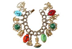 Asian-Motif Charm Bracelet on OneKingsLane.com