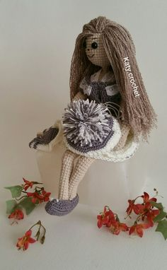 #crochet #doll #lovelygirl #dollclothes #doll bag #dollshoes  #dollhat #قلاببافی #عروسکبافی #دخترناز #کروشیه