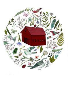 Flora and Fauna (digital print). £18.00, via Etsy. — Lizzy Stewart
