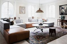 Swedish apartment - lounge living room