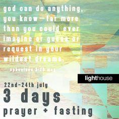 Prayer + Fasting