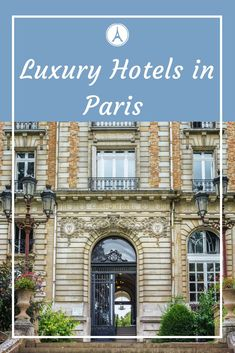 Planning a trip to Paris in style? Here are some of the best Luxury Hotels in Paris! Bungalows, Europe Travel Tips, Travel Guides, Travel Pics, Travel Advice, Travel Destinations, Paris Travel, France Travel, Bali