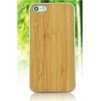Bamboo Wood Case Plain Motif for iPhone 6