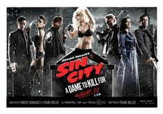 Sin city a dame to kill for affiche