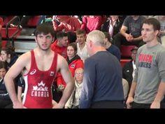 2017 JR Nationals FS60kg FINAL Chris McIssac (Brock) vs Garrett Sales (Guelph)