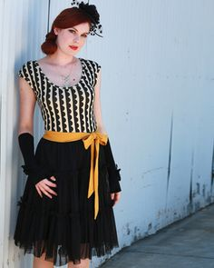 The Follies Dress- Scallop Print My Size S