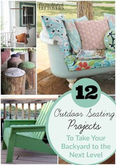 DIY Outdoor Seating Projects