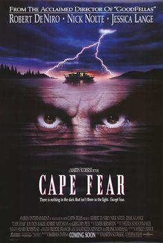 cape fear, 1991.  Martin Scorcese