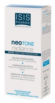 Una maravill!: crema despigmentante y filtro solar al mismo tiempo!! NEOTONE RADIANCE - Neotone | ISIS Pharma