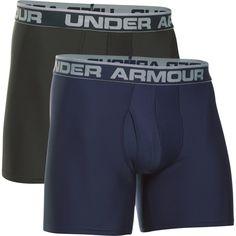 Under Armour Men's O Series Boxerjock Boxer Briefs 2 Pack, Size: Large, Blue Man O, Under Armour Men, Big & Tall, Boxer Briefs, Cotton Shorts, Modern Fashion, Mens Fitness, Underwear, Gym Shorts Womens