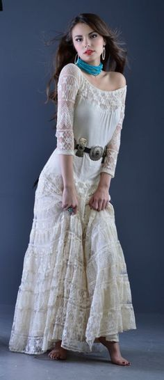 Brands :: Vintage Collection :: VINTAGE COLLECTION SPRING 2014 ANGEL DRESS - Native American Jewelry|Ladies Western Wear|Double D Ranch|Ladi...