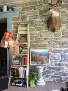 The Farmer's Daughter's {re} Purpose: Step Ladder Bookshelf