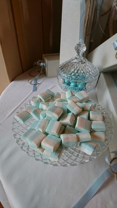 Beautiful colour themed marshmallow station