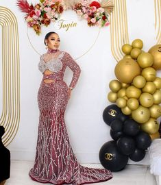 African Print Dress Prom, African Bridal Dress, African Lace Dresses, Event Dresses, Bridal Dresses, African Fashion Traditional, Lace Gown Styles, Long Gowns, Wedding Dress Sleeves