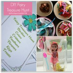 Disney Fairy Treasure Hunt to get ready for the All-New Tinker Bell Movie! Also perfect for a fairy party or birthday party activity. #PirateFairy #BH #ad