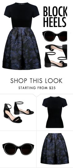 """""""Check out my blog! {RTD}"""" by shalom11 ❤ liked on Polyvore featuring TIBI, Sonia Rykiel and Oscar de la Renta"""