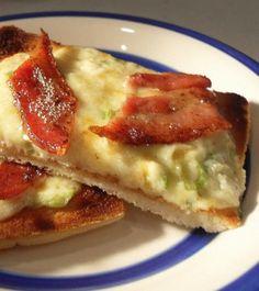 The English Kitchen: Bacon Cheese Toasties