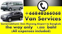 ||| Call  +66840266068 | Car:Van:Taxi: Service Airport Bangkok Thailand