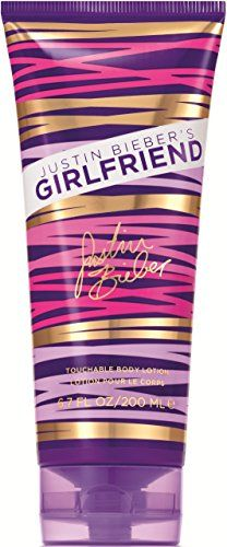 GIRLFRIEND BY JUSTIN BIEBER by Justin Bieber for WOMEN BODY LOTION 6.8 OZ Launched by the design house of Justin Bieber in 2012 GIRLFRIEND BY JUSTIN BIEBER by Justin Bieber possesses a blend of Straw...