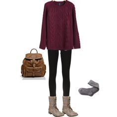 I <3 this outfit sooooo much! Just add a scarf and this will be my favorite outfit I love everything about it!