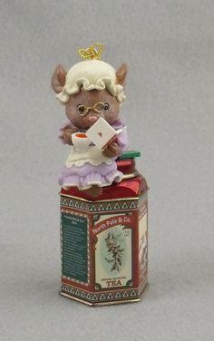 "Enesco Treasury Christmas Ornament, ""You're My Cup of Tea"" 1995   eBay"