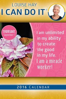 MAXMILLIAN THE SECOND: I can do it to day - Louise Hay