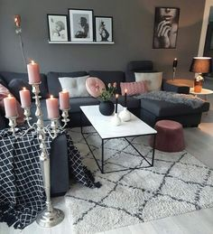 Cozy Small Living Room Decor Ideas For Your Apartment - Living areas - Living Room Decor Cozy, Chic Living Room, Home Living Room, Interior Design Living Room, Living Room Designs, Living Room Setup, Decoration Inspiration, Decor Ideas, Room Ideas