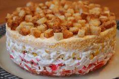 Вкуснейший слоеный салат «Коррида» http://jemchyjinka.ru/2017/12/09/vkusnejshij-sloenyj-salat-korrida/