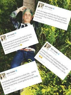 I did the first one and one of my friends asked me what was wrong with me. These are great inspirational quotes from Kian Lawley. If I were you, I would take this advice.