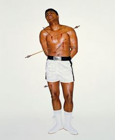 Muhammed Ali by Carl Fischer and George Lois (for Esquire Magazine)