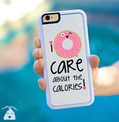 I DONUT GIVE A SHIT / Donut Phone Case / I Donut by CuddleCupcakes