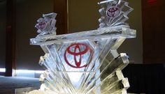 Ice Magic TV produces and distributes high end ice sculptures and carvings in Southern California. Based in the Palms Springs area, Ice Magic has been creating and distributing stunning ice sculptures to country clubs and venues for all events. Ice Logo, Ice Magic, Ice Bars, Food Displays, Ice Sculptures, Toyota, Centerpieces, Carving, Tv