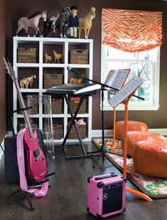 Music and craft room