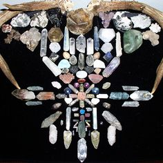 crystals attract faeries.  make a little house for them in your garden and add crystals to attract them to your garden.