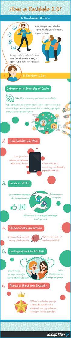 Hola: Una infografía sobre si ¿Eres un reclutador 2.0? Vía Un saludo