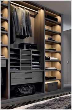 The best of luxury closet design in a selection curated by Boca do Lobo to inspi. The best of luxury closet design in a selection curated by Boca do. Closet Walk-in, Men Closet, Closet Ideas, Wardrobe Ideas, Master Closet, Closet Space, Closet Drawers, Closet Shelves, Closet Storage
