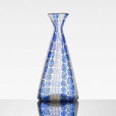 ** Ercole Barovier Saturneo vase  Barovier & Toso  Italy, 1951