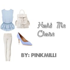 Hold Me Close by pinkmilli on Polyvore featuring Armani Jeans, Salvatore Ferragamo and MANGO