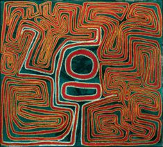 Mulgra (Mawukura) Jimmy Nerrimah, untitled, acrylic on canvas, 91 x 101 cm. Coo-ee Aboriginal Art Gallery, Bondi Beach.