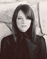 Emma Stone.  Funny, gorgeous, talented.