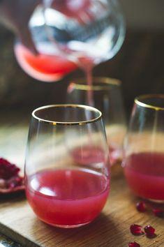 Pomegranate Gin (Or Vodka) Cocktail for Celebrating | @whiteonrice #vodkacocktails