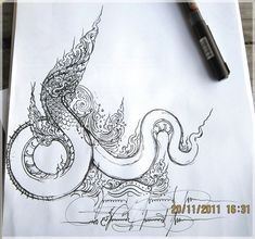 Tong.38/16 : Fun Learning traditional Thai Designs with JitdraThanee the Tutor