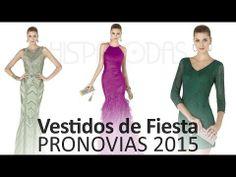 Vestidos de fiesta 2015 Pronovias. Todos los modelos de la colección y principales tendencias #moda #vestidosdefiesta #tendencias2015