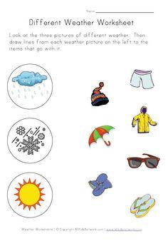 Weather Worksheets for Kids