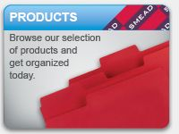SMEAD Products: Browse our selection of products and get organized today.