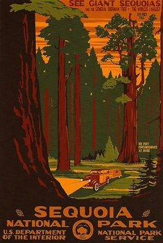 WPA National Park Poster