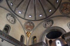 Donatello - Decorazioni - 1428-1443 - Sagrestia Vecchia - Basilica di San Lorenzo - Firenze
