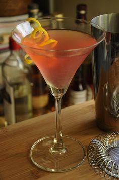 Cosmopolitan | Barman's Journal #Gin #Cosmopolitan